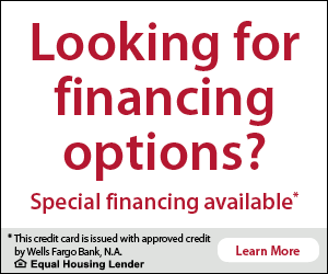 Looking for Financing Options - Learn More